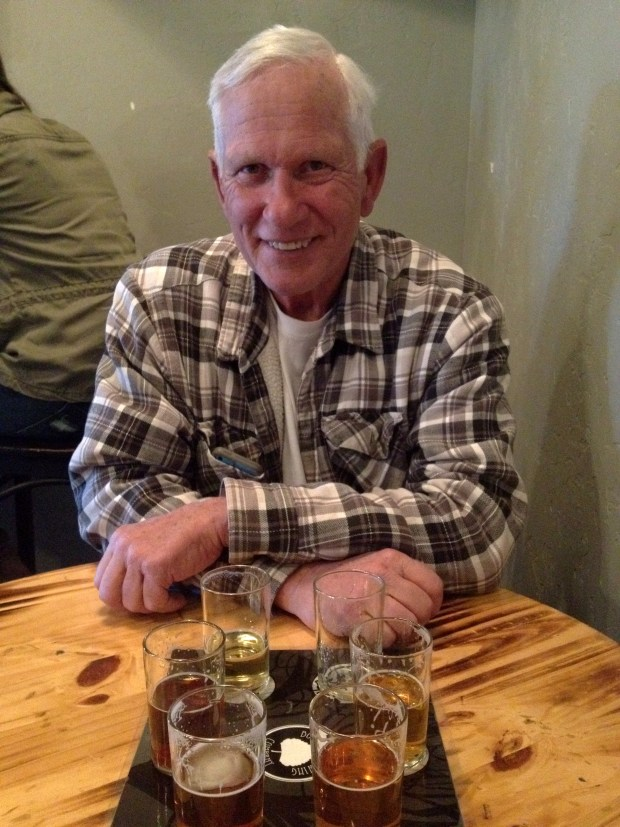 Tom at Bosque Brewing Company, Las Cruces, New Mexico