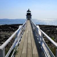 Lighthouses of Maine: Nubble Light, Cape Elizabeth Lighthouse, Marshall Point Lighthouse, Owls Head Light, Dyce Head Lighthouse