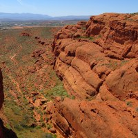 Red Cliffs Desert Reserve, Part 1: Dinosaur Cliffs