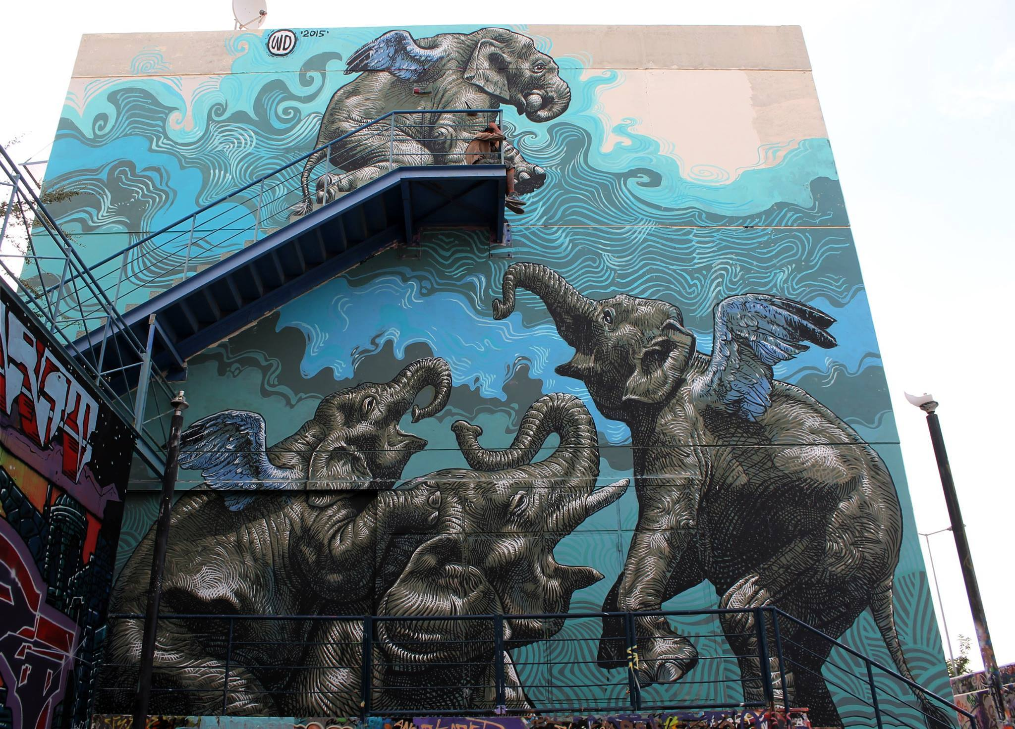 elephant-athenes-photos-de-Street-Art