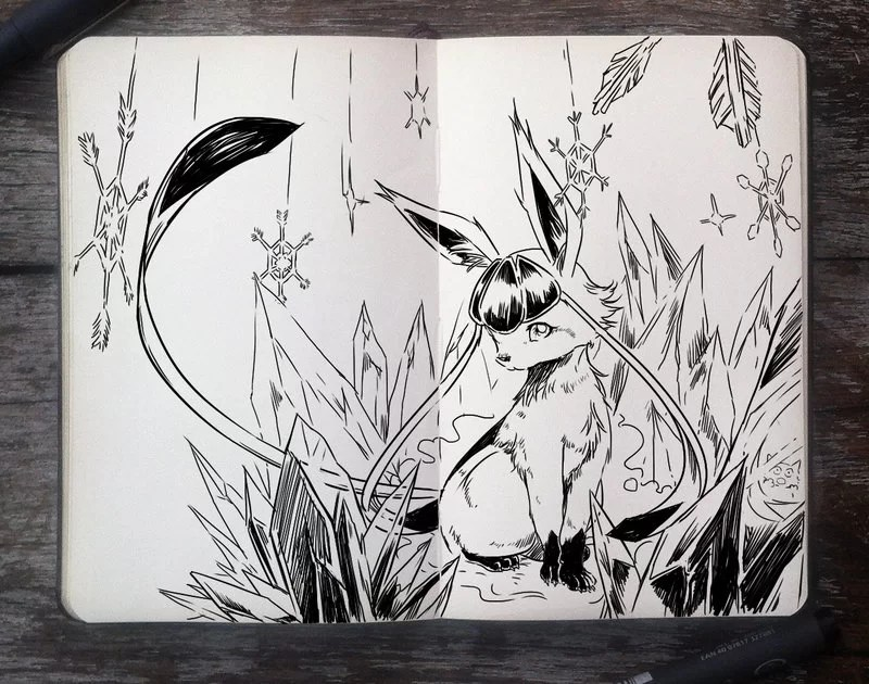 _283_glaceon_by_365_daysofdoodles-d85z9ws