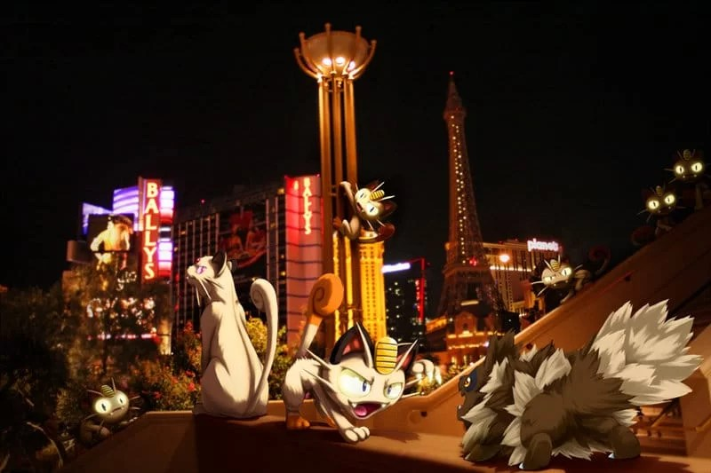wild_persian_w_meowth_encounter_zigzagoon_in_vegas_by_ninja_jamal