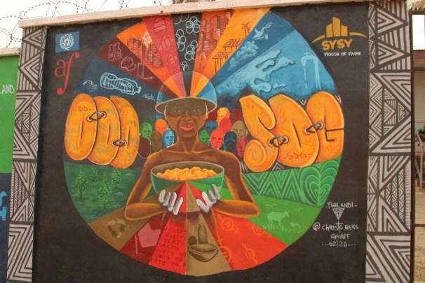 street art douala