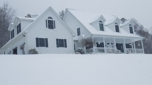 House with Snow - Nov 2018