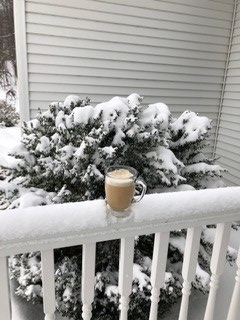 Coffee in the snow 2