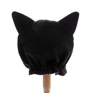 Back view of the Black Cat Hood.