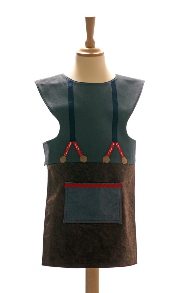 Woodcutter tabard front view