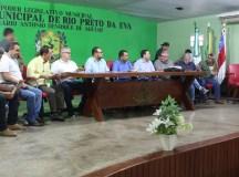 Representantes da Afeam e Sepror reúnem com produtores rurais em Rio Preto da Eva
