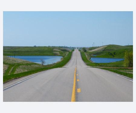 North Dakota road