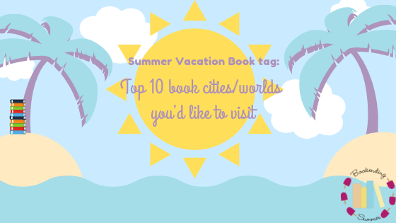 BESUMMER19: Summer Vacation Book Tag