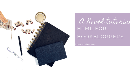 Html tutorial for Book bloggers