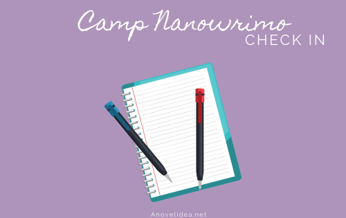 Camp Nanowrimo Check in