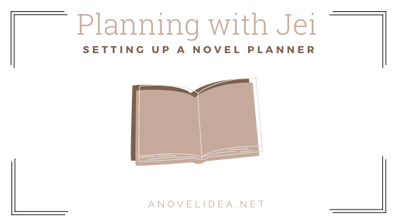 Setting up a Novel planner