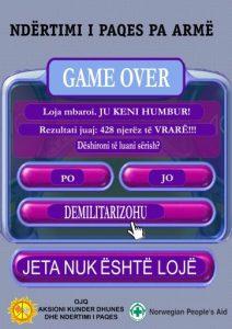 Game Over - Jeta Nuk Ështe Lojë