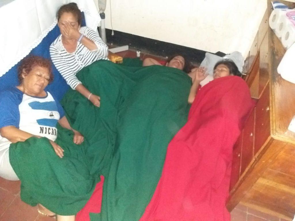 Las madres de presos políticos se mantienen en huelga de hambre