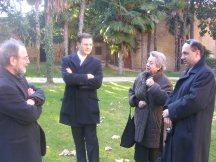 Dory e Ariel Bonfiglioli visitano Palazzo Giustiniani Bandini