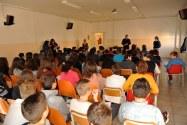 19.11.15 - Giuseppe Viterbo incontra gli studenti della Scuola Secondaria di primo grado di Urbisaglia