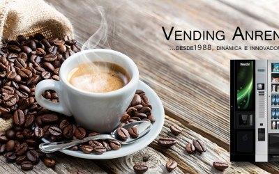 Máquinas expendedoras de café con monedero