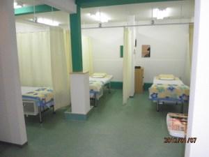 あんり治療院の待合スペース