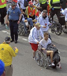 Terrore alla maratona di Boston