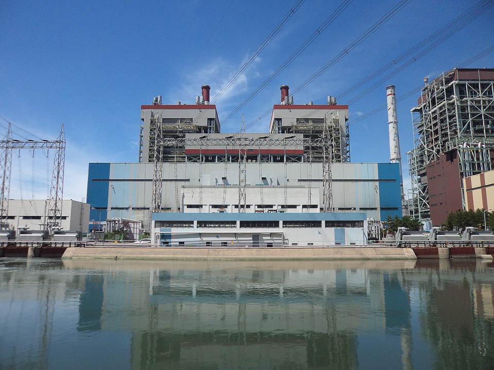 2012 Boryeong Thermal Power Plant Unit 1 2 14 Lab Style Kantor Arsitek Umum: Arsitek Ahn Eung-jun