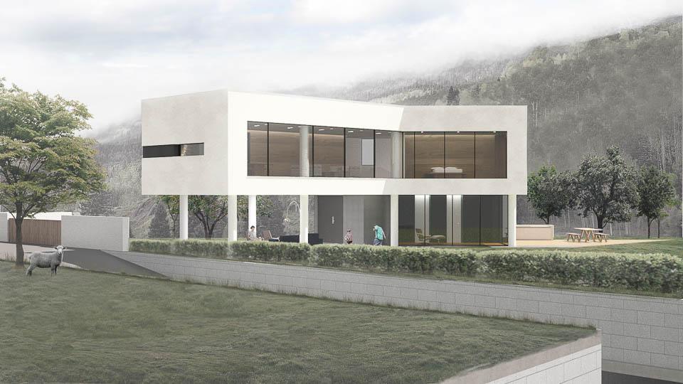 Kantor Arsitek Lab 4 Style Galeri Laut Kuning 2015: Arsitek Ahn Eung-jun