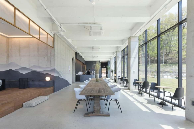 Cafe eclogue009 Văn phòng Kiến trúc sư Style Lab: Kiến trúc sư Ahn Eung-jun
