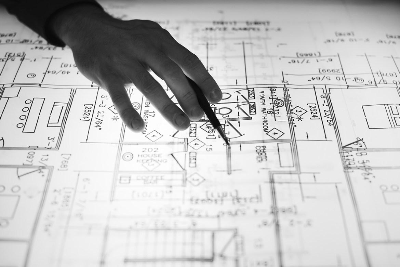 설계도면을 볼줄아는 건물주는 없다.