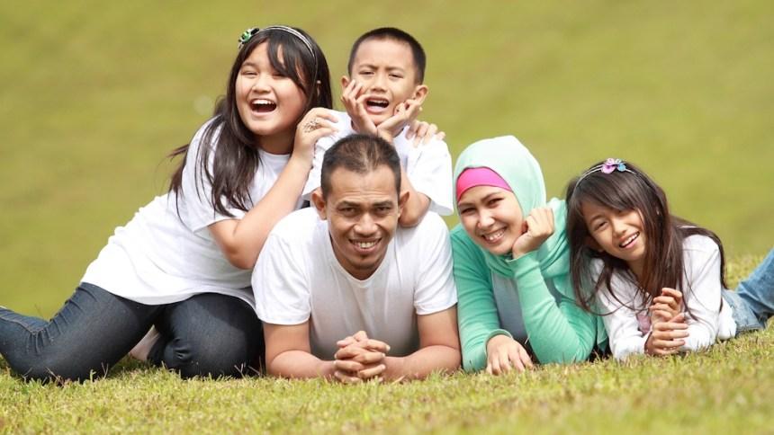 famille musulmane vacances