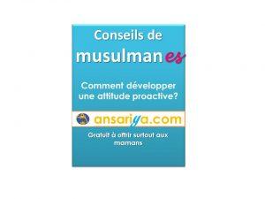 livre CONSEILS DE MUSULMANES