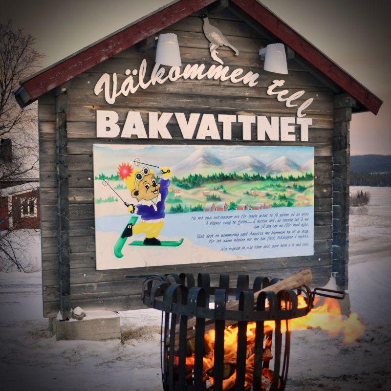Välkommen till Bakvattnet. Foto © flyttatillfjallen.se