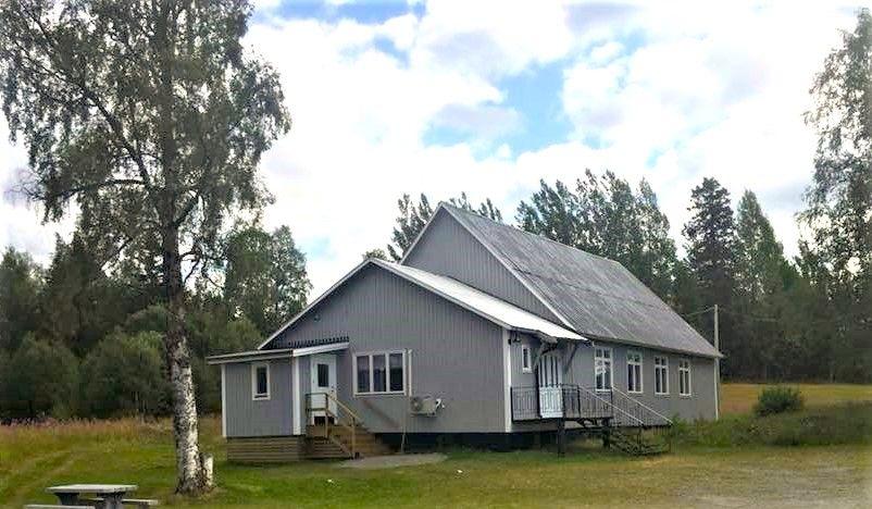 Föreningshuset i Gunnarvattnet.