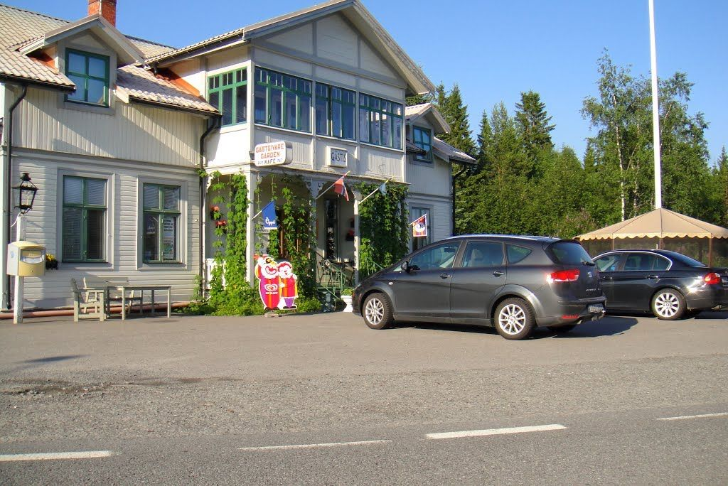 Sommar hos Lillholmsjö Gästgivargård och camping. Foto © Mapio.net.