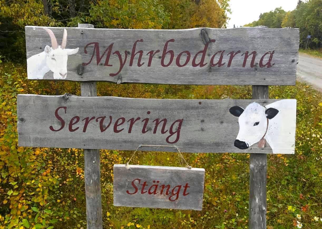 Välkommen till Myhrbodarna. Foto © Myhrbodarna Fäbod