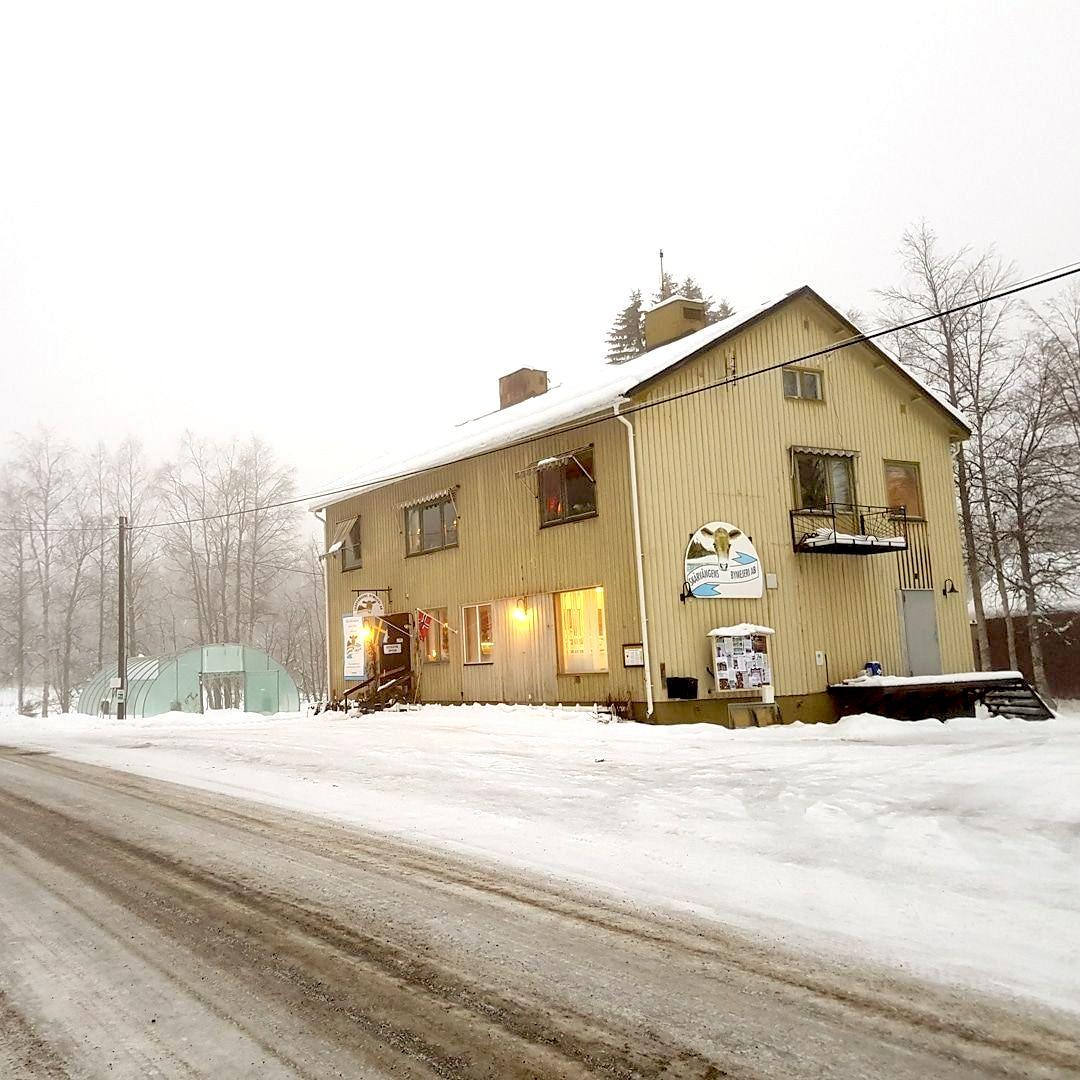Butiken, Skärvångens Bymejeri.