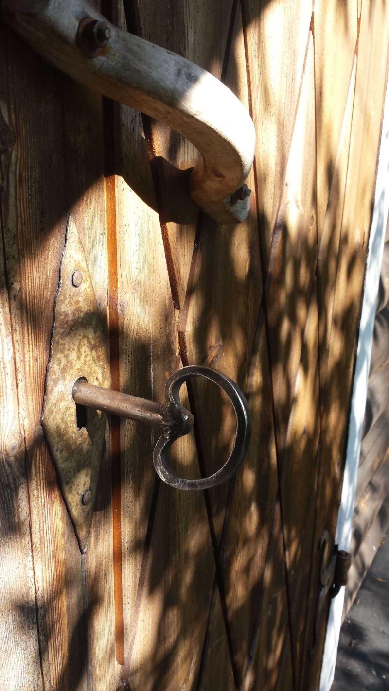 Stuga Stillheten nyckel. Foto © Stilla Dagar