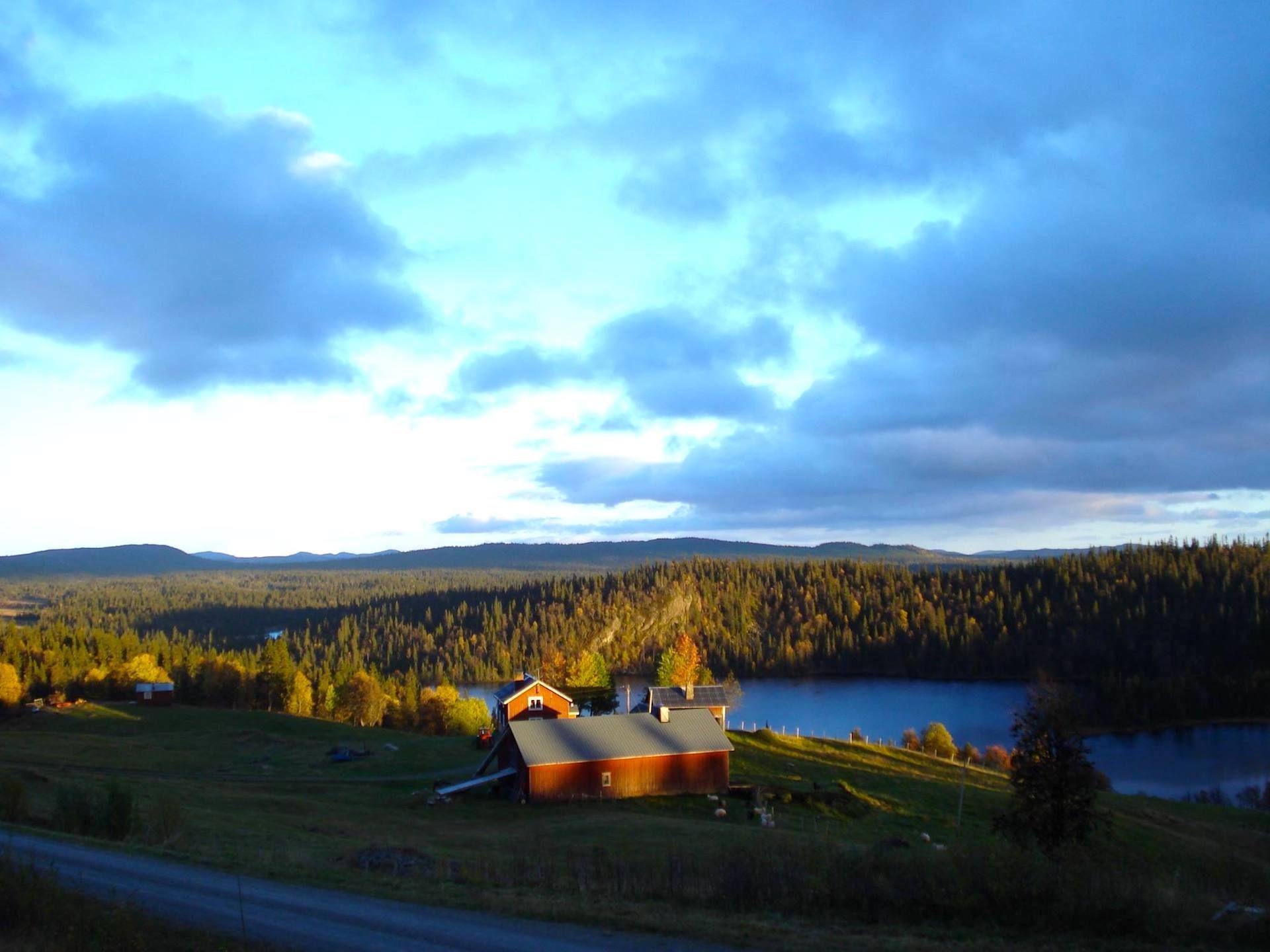 Fjällägenheten Bågavattnet i Hotagsbygden. Foto © Mariana Tarander.