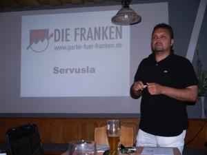 Andreas Brandl bei seinem Vortrag