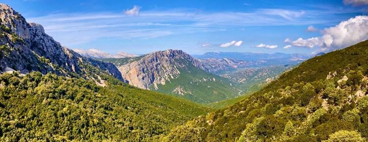 SS125, Gola di Gorropu, Roadbook Sardinien