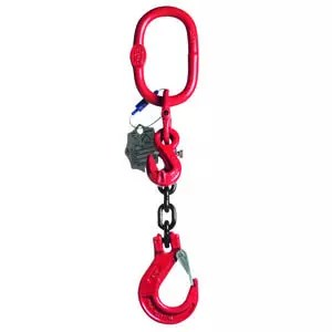 1-leg chain sling Grade 8 with shortener