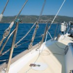 Stainless steel ropes in yachting