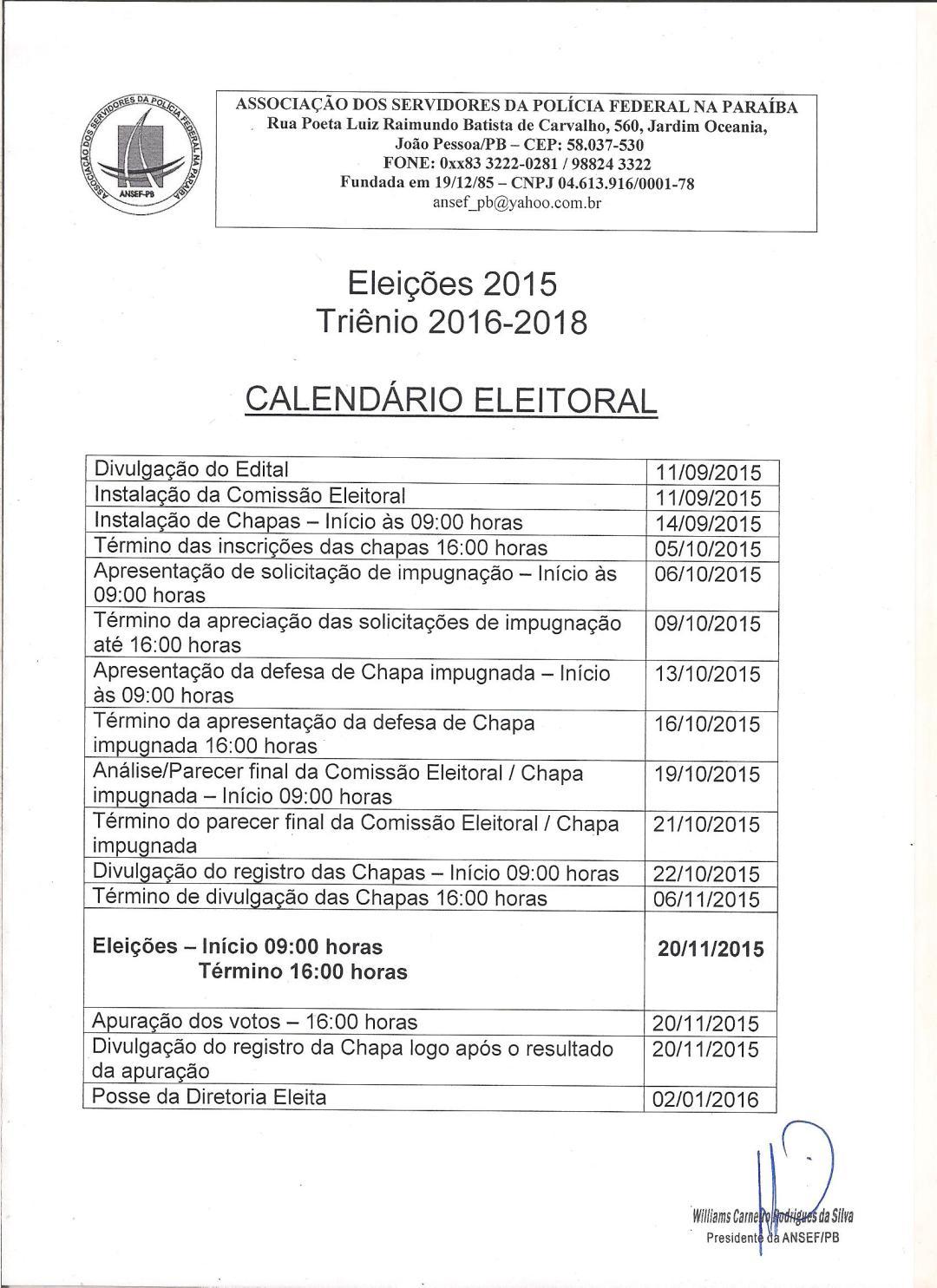 calendário eleitoral 001