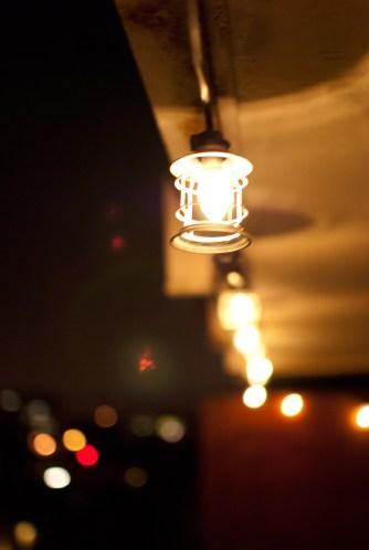 Neat light on balcony over denver