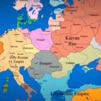 Así cambió el mapa político de Europa durante los últimos mil años