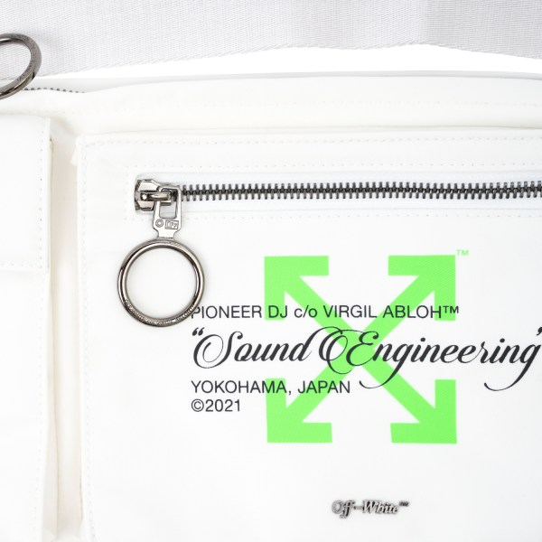 OFF-WHITE X Pioneer Pockets Fannypack White