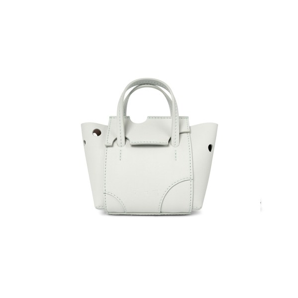 Off White burrow bag sage front