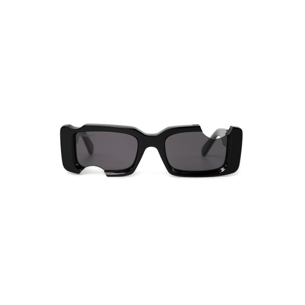 Off White cady sunglasses black front