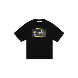 Off White carav paint tee front