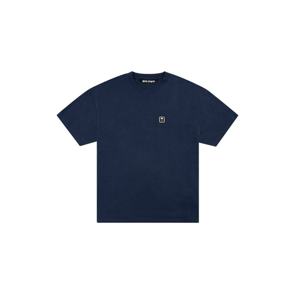 Palm Angels navy t-shirt front