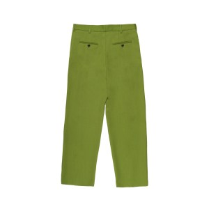 Acne Studios Pleated Trousers Green